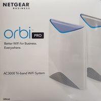 Netgear Orbi Pro SRK60-100EUS Business AC3000 Tri-Band Mesh WLAN System, bis zu 350m²