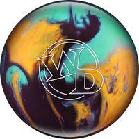 Bowling Ball White Dot Jester 14