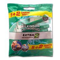 WILKINSON SWORD 7005771D 7er Pack Extra Sensitive Einwegrasierer