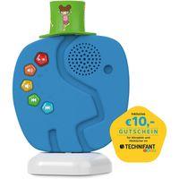TECHNIFANT Audio Player  und Nachtlicht für Kinder (inkl. 10€ Gutschein für Hörspiele und Hörbücher im TECHNIFANT Shop), Farbe:blau