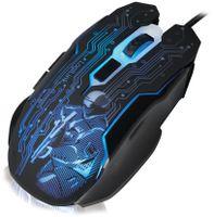LogiLink Optische Gaming Maus kabelgebunden schwarz