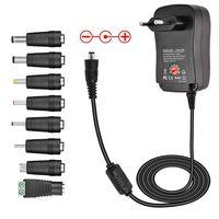 Universal Netzteil 2000mA Steckernetzteil Netzladeadapter Netzladegerät Lade Adapter Netzgerät 3V-12V mit 8 Adaptern - 30W