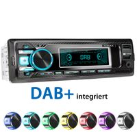XOMAX XM-RD269: 1DIN, Autoradio mit DAB+, Bluetooth, USB, AUX IN, ohne Laufwerk