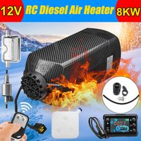 8KW 12V Diesel Standheizung Luftheizung Heizung Heizgerät Air Heater LCD Fernbedienung