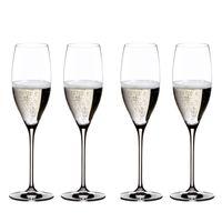 RIEDEL - Vinum Champagner Glas - 4er Set, Farbe:Transparent