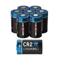 8x ANSMANN CR2 Lithium Batterie 3V - Hochleistungsbatterie (8 Stück)