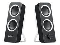 LOGITECH Z200 2.0 Stereo Speaker Midnight Black - UK Version (Stecker-Typ G)