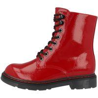 Dockers by Gerli Damen 45TS201 Stiefel Dessert Boots Combat Boot, Farbe:Rot (Hellrot), Größe:EUR 39