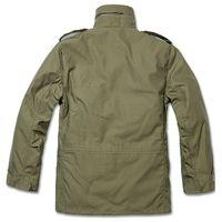 Brandit - M65 Standard Feldjacke oliv, Parka US Style Jacke mit Futter Größe XL