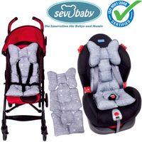 Sevibaby JEANS Einlage Sitzunterlage fü Babyschale Kinderwagen Autositz 8376-30