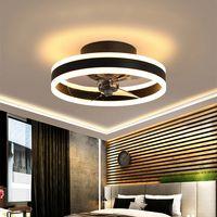 Welikera Deckenventilator Mit Beleuchtung, Fernbedienung Leise Moderne Led Mit Licht Wohnzimmer Ventilator Deckenleuchte