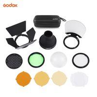 Godox AK-R1 Taschenlampe Zubehoer-Kit fuer Godox H200R Rundblitzkopf AD200 Zubehoer