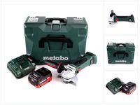 Metabo W 18 LTX 125 Quick Akku Winkelschleifer 18V 125mm ( 602174840 ) + MetaLoc + 1x Akku 5,5 Ah + Ladegerät