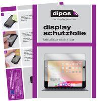 2x Apple iPad 10.2 Zoll (2019) Schutzfolie klar Displayschutzfolie Folie Display