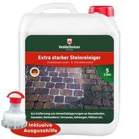 Außenanlagenreiniger Steinreiniger 5 Liter Konzentrat ohne störende Gerüche mit Langzeitwirkung Grünbelagentferner Wege kein Glyphosat Unkrautvernichter