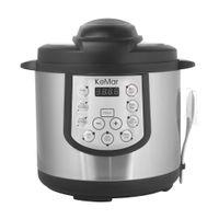 KeMar Kitchenware KPC-150 Schnellkocher | Multikocher | Pressure Cooker | Schnellkochtopf | Warmhaltefunktion | Timer | 15 Programme | Innentopf aus Edelstahl