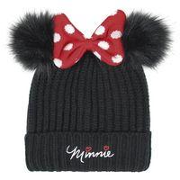 Kindermütze Minnie Mouse Schwarz
