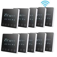 10 Pack Floureon Smart Digitaler Raumthermostat Programmierbar Thermostat FußBodenheizung Wasserheizung WIFI-Thermostat