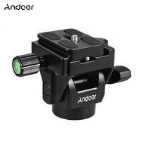 Andoer M-12 Monopod-Neigekopf Panoramakopf Telephoto Vogelbeobachtung mit Schnellwechselplatte Einbeinstative