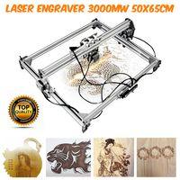 3000MW 65x50cm Laser Graviermaschine Graviergerät Lasergravur Maschine LOG DIY