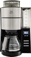 MELITTA 1021-02 Aroma Fresh Kaffeeautomat mit Timer und Mahlwerk schwarz, Farbe:Schwarz