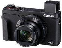Canon PowerShot G5 X Mark II Digitalkamera, 20,1 MP, 5-fach optischer Zoom, 3 Zoll Display klappbar, 4K, Full-HD, WLAN, Bluetooth, Blendenautomatik, Zeitautomatik, schwarz
