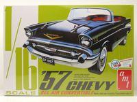 Chevrolet Bel Air Convertible 1957 Kunststoffbausatz Modellauto 1:16 AMT
