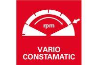 Metabo Winkelschleifer WEV 850-125 mit Drehzahlregelung  3.000 - 11.500 / min