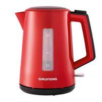 GRUNDIG WK 4620 R Harmony Wasserkocher rot, Farbe:Rot