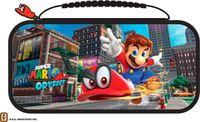 BigBen Nintendo Switch Travel Case Mario Odyssey NNS58 (Transporttasche inkl. 2x 4-Spiele-Game-Boxen, 2x 2-Micro-SD-Card-Boxen)