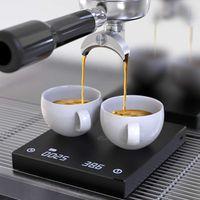 LCD Digital Kaffeewaage Mit Timer USB Elektronische Waage Hochpräziser Küchenwaage für Espresso Filter