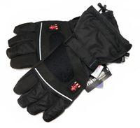 Beheizbare Handschuhe mit 4 Stufen Temperaturregler, wasserabweichend atmungsaktive , Akkubetrieb(M)