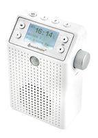 Soundmaster DAB+/UKW Steckdosenradio mit Bewegungsmelder und eingebautem Akku