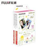 Fujifilm Instax Square Film Fotopapier 10 Blatt Kompatibel mit Fujifilm Instax Mini 7/8/9/25/50/70/90 / Hello Kitty und Princiao Smart