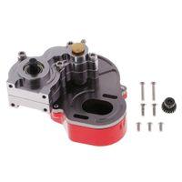 Metall Getriebe Gearbox Getriebegehäuse für 1:10 Axiale Scx10 Crawler