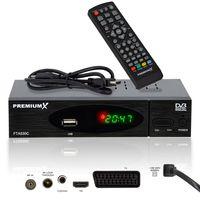 PremiumX FTA 530C Kabel Receiver DVB-C FullHD Digital USB SCART HDMI