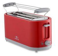 LENTZ 4-Scheiben Toaster Langschlitztoaster Rot 74276