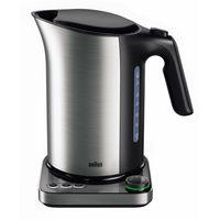 BRAUN WK 5115 BK IDCollection Wasserkocher 1,7L mit Temperatureinstellung, Farbe:Schwarz