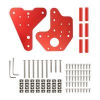 Robustes XYZ-Achsen-Befestigungskit für die lineare Führungsschienen-Montageplatte für Ender-3 / Ender-3 Pro / Ender-3 V2 3D-Druckerzubehör