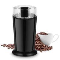 COSTWAY Elektrische Kaffeemuehle Universalmuehle Kaffee Muehle Edelstahl 150W Schwarz