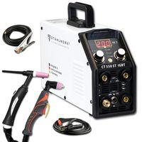 STAHLWERK CT550 ST DC WIG MMA Schweißgerät mit Plasmaschneider bis 12mm 200 Ampere WIG MMA 50A CUT