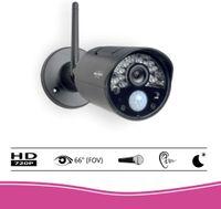 """ELRO CZ30RIPS Wireless HD Überwachungs-Kamera Set mit 7"""" Bildschirm und App"""