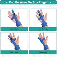 Finger zeigefinger kleiner Mano cornuta