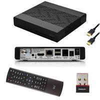 VU+ Zero Black DVB-S2 Tuner Sat Linux Receiver FULLHD mit PremiumX Wlan Stick