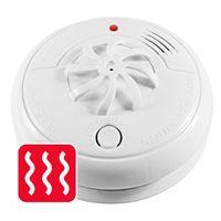 mumbi HM100 Hitzemelder - Wärmemelder für Räume mit Dampfentwicklung wie Küche oder Bad