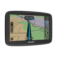 TomTom Start 52 Europe 12,7cm (5 Zoll) inkl. Free Lifetime Maps, TMC, Fahrspurassistent, KFZ-Halterung,  Touchscreen, USB, Farbe: Schwarz