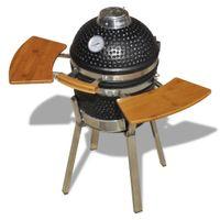 Kamado Barbecue Grill Räucherofen Keramik 76 cm