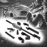 Universal Schlaghammer Ausbeulsatz 11tlg Gleithammer Ausbeulwerkzeug Werkzeug