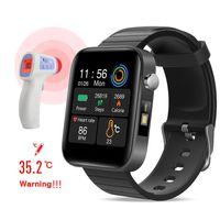 Smart Watch Männer Frauen Smartband Körpertemperatur Blutdruck Blutdruck Sauerstoffmonitor Armband