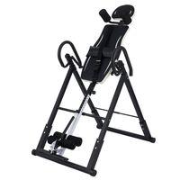 Crenex Schwerkrafttrainer Inversionsbank Rückentrainer klappbar schwarz